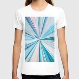 426 - Abstract grass design T-shirt