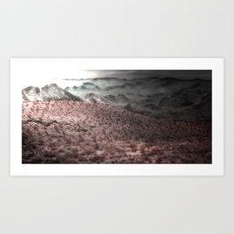 Our Death Valley Art Print
