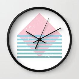 80s Ocean Mountain Wall Clock