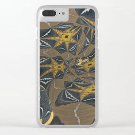 Solemn Mandala 5 Clear iPhone Case