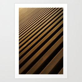 Blades Art Print