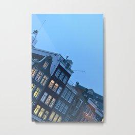 Amsterdam Residentials - 2 Metal Print