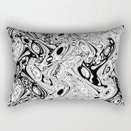 Abstract pseudorganic tissue Rectangular Pillow