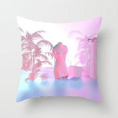Vaporwave Throw Pillow
