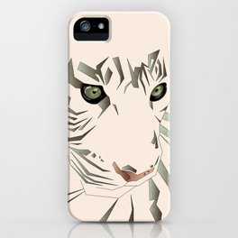 Tiger's Tranquility iPhone Case