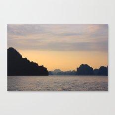 Halong Bay, Vietnam.  Canvas Print
