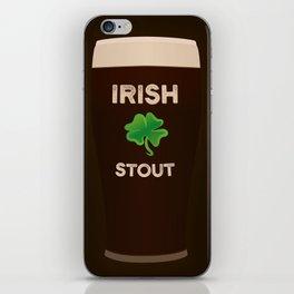 Irish Stout iPhone Skin