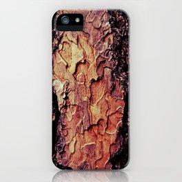 the tree bark iPhone Case