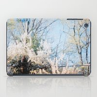 telephone iPad Cases featuring Telephone Pole by Lauren VanDerwerken