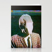 returns Stationery Cards featuring Slenderdad Returns by Art of the Glitch