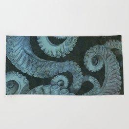 Octopus 2 Beach Towel