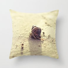 Little Hermit Throw Pillow