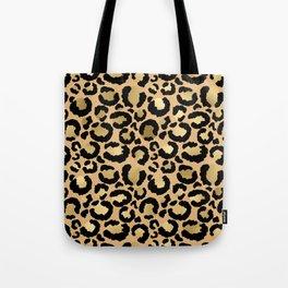 Animal print - natural gold Tote Bag