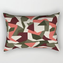 Camouflage pattern Rectangular Pillow