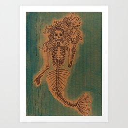 wastered  Art Print