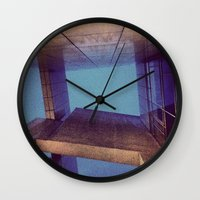 barcelona Wall Clocks featuring barcelona by xp4nder