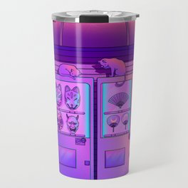 Neon Vending Machines Travel Mug