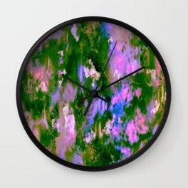 Lilac Tree Wall Clock
