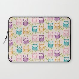 T-wit T-woo Owl print Laptop Sleeve