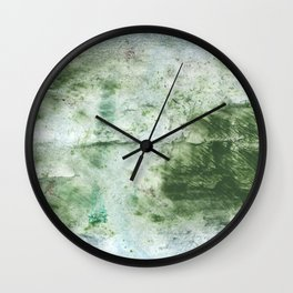 Green abstract Wall Clock