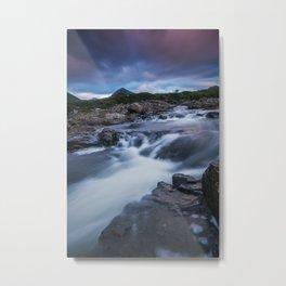 The River at Sligachan Metal Print