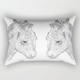 donkey Rectangular Pillow