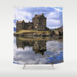 Eilean Donan Castle Scotland Shower Curtain