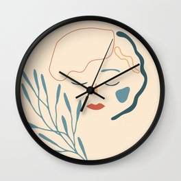 Summer on my mind Wall Clock