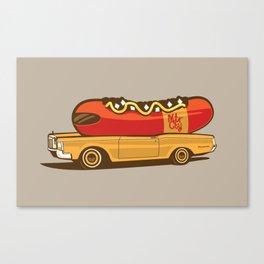 Coneymobile Canvas Print