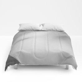 Sexy nude woman back Comforters