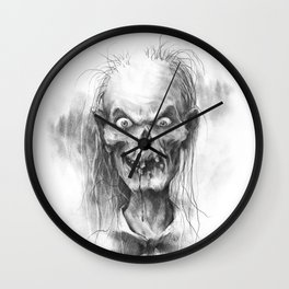 The Keeper of the Crypt Wall Clock