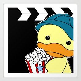 Movie Duck boy Art Print