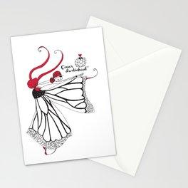 Katharina- Lady butterfly Stationery Cards