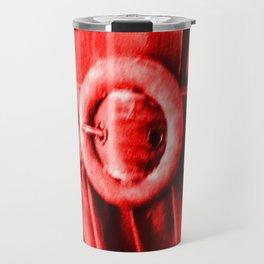 Red Vintage bElt Travel Mug