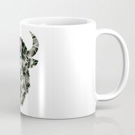 Fractured Geometric Buffalo  Coffee Mug