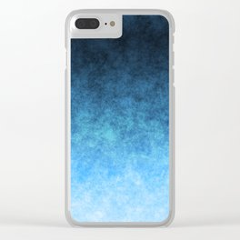 stained fantasy glow gradient Clear iPhone Case