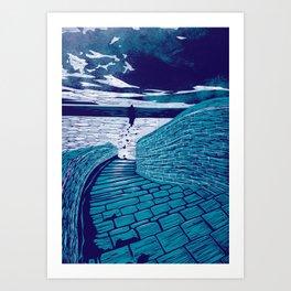 A Sanctuary Closed Art Print