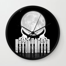 City Tunes Wall Clock