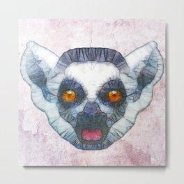 abstract lemur Metal Print
