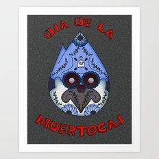 Dia De La Muertocai Art Print