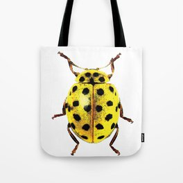 Insecte jaune et noir colors fashion Jacob's Paris Tote Bag