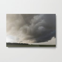 Wall Cloud 2 Metal Print