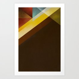 Jazz Festival 2012 (Number 4 in a series of 4) Art Print