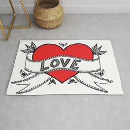 Declare your love! Rug