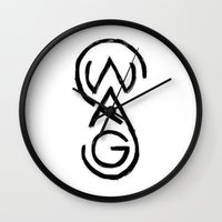 swag Wall Clocks featuring SWAG by Sjaefashion