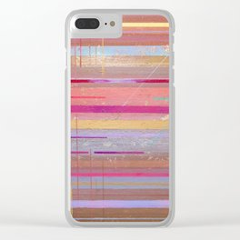 The Texture Of MisCommunication Clear iPhone Case