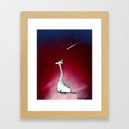 Spotless Framed Art Print