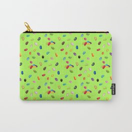 Android Eats: jellybean pattern Carry-All Pouch
