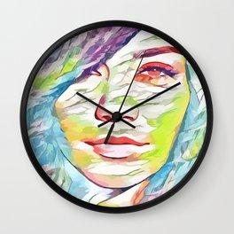 Vanessa Hudgens (Creative Illustration Art) Wall Clock