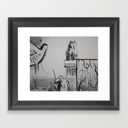 A Cheap Joke and a Forgery Framed Art Print